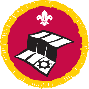 scout map badge